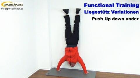 Functional Training Liegestuetze Down Under 1