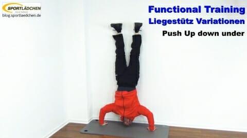 Functional Training Liegestuetze Down Under 2
