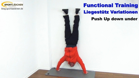 Functional Training Liegestuetze Down Under 1