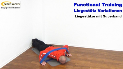 Functional Training Liegestuetze Superband 2