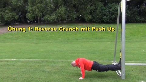 1_Reverse Crunch und Push up A