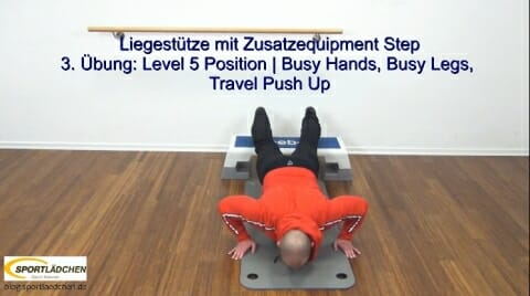 Liegestuetze Teil 1 Busy Hands Busy legs 1