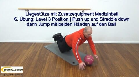 Liegestuetze Teil 1 Push up Jack 4