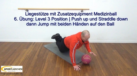 Liegestuetze Teil 1 Push up Jack 3