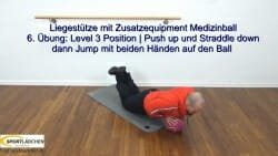 Liegestuetze Teil 1 Push up Jack 2