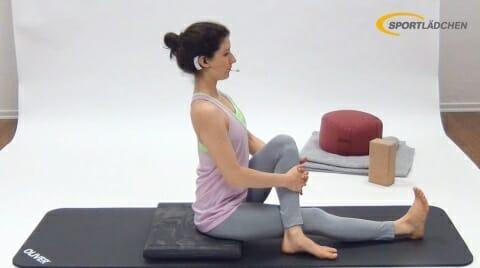 Rotation im Sitz 1