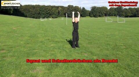 Squat Schulterdruecken 2