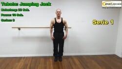 Tabata Jumping Jack 1