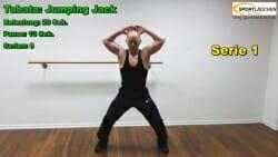 Tabata Jumping Jack 2