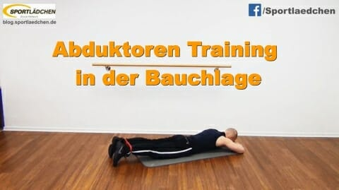 Abduktoren Training in der Bauchlage 1.JPG