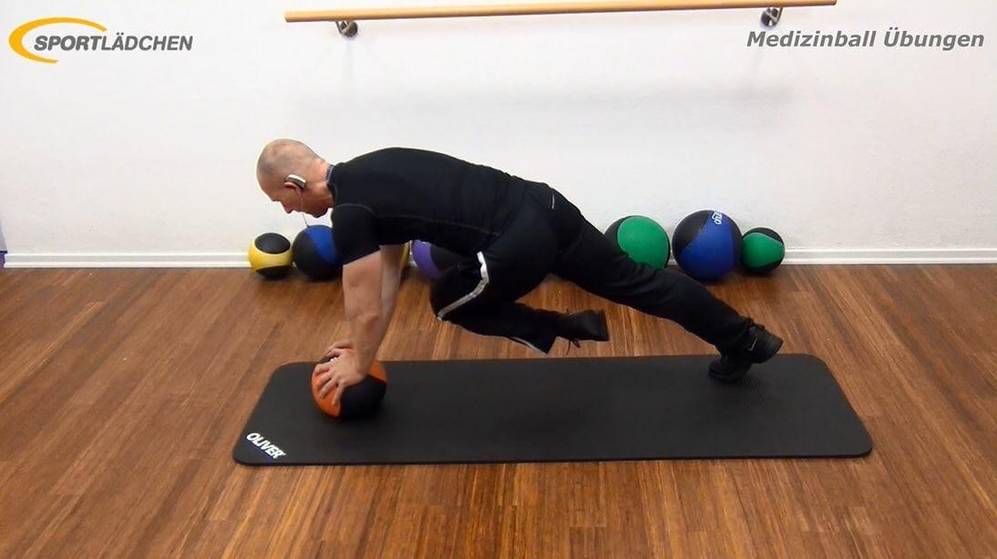 Übungen mit dem Medizinball: Inklusive Video und Bildergalerie