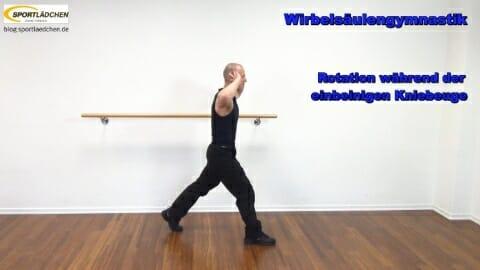 1 Einbeinige Kniebeuge A