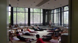 Joseph Pilates Memorial Day: Top Presenter am Start