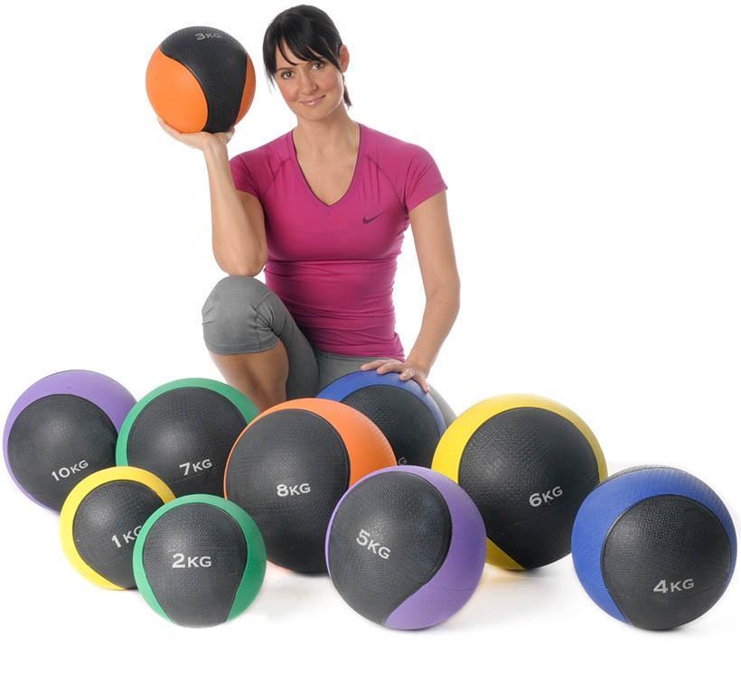 Medizinball 1 - 10 KG