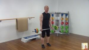 Langhantel Workout  Bizepcurl 1