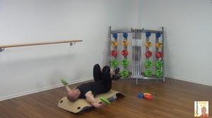 Langhantel Workout Fliegende Bewegung 2