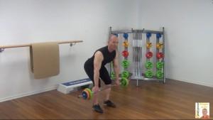 Langhantel Workout Rudern vorgebeugt 1