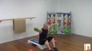 Langhantel Workout Seitheben 2