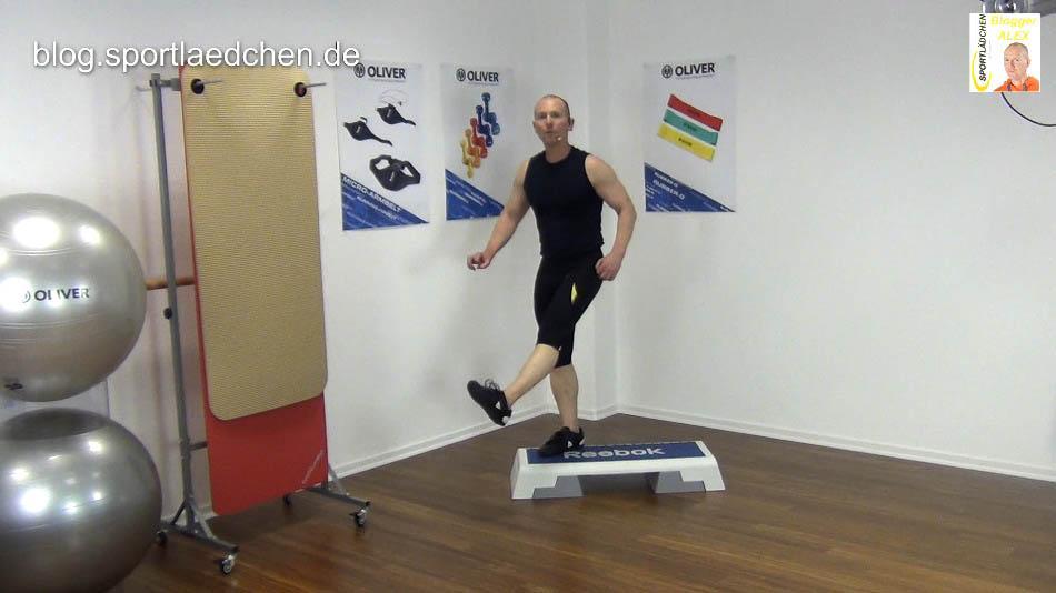 Step Aerobic Kick