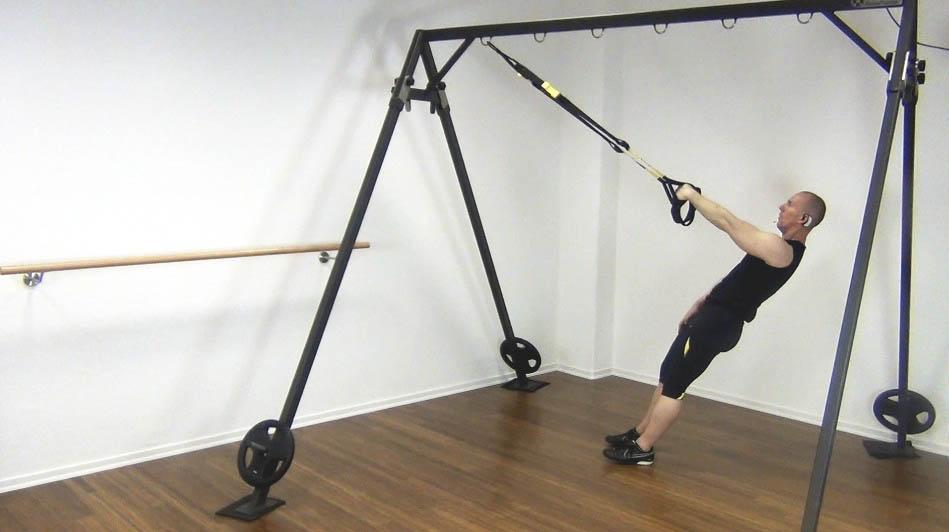 Sling Trainer Rueckentraining