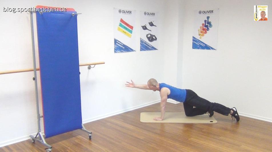Bauch Beine Po effektiv trainieren