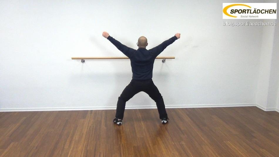 Aerobic Übungen Jumping Jack