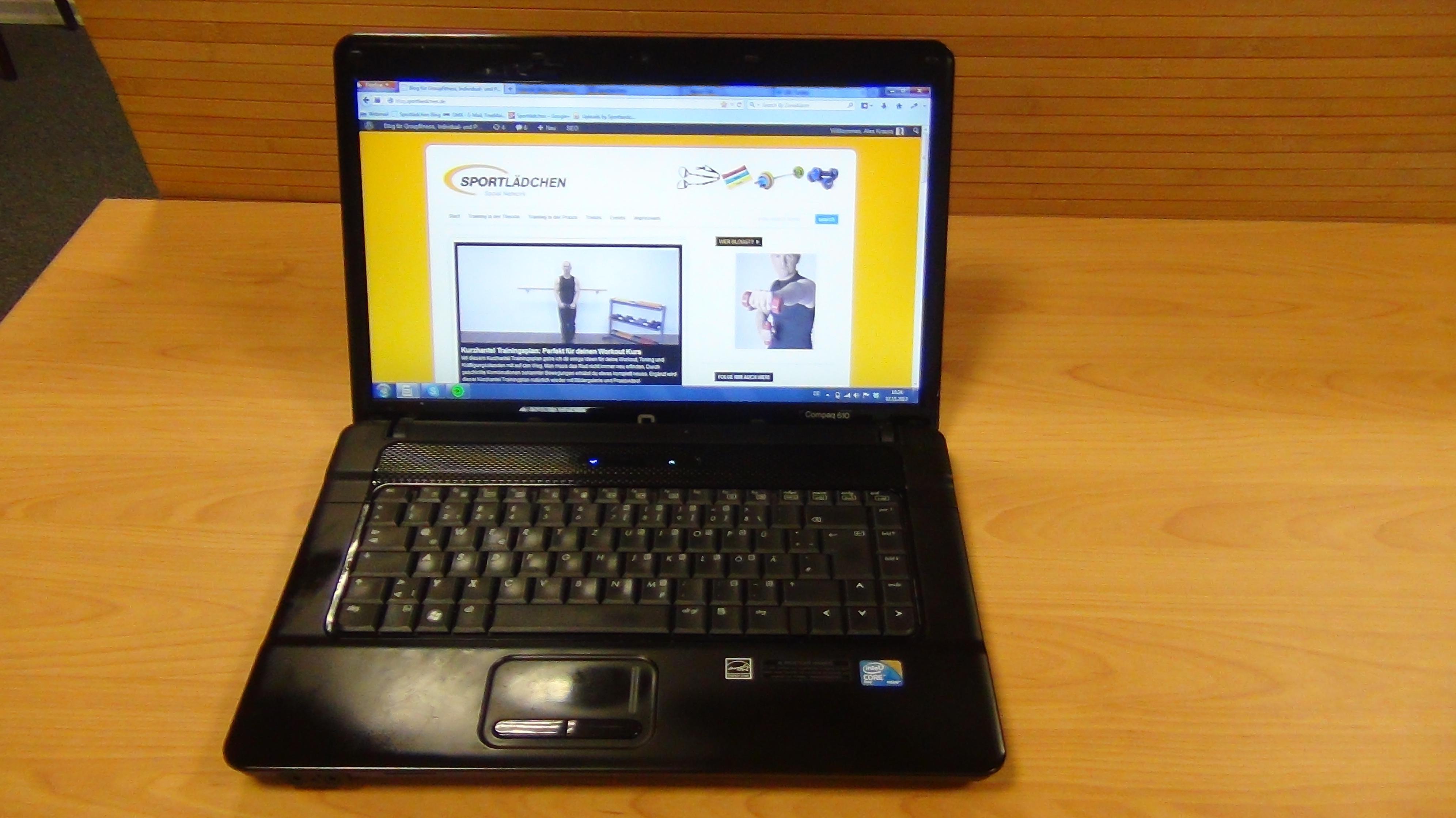 Mein Arbeitsplatz - Dank Laptop immer und überall