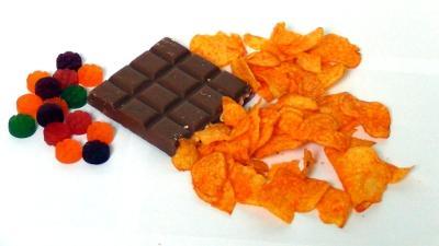 Abnehmen und Muskeln aufbauen | 200g Süßigkeiten und Knabbereien