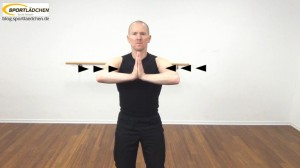 Isometrische Übungen Brust