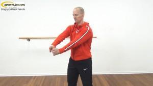 Dehnübungen Arme | Hier: Vordere Armmuskulatur dehnen