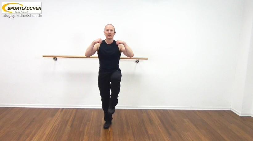 Aerobic Choreography mit Video
