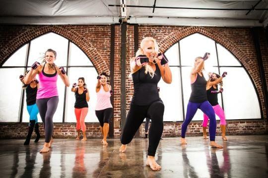 Boxen, Tanzen und Pilates
