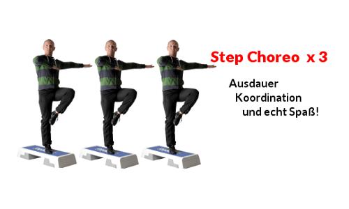Step Aerobic Video auf Youtube