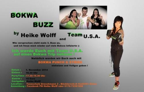 Bokwa Buzz by Heike Wolff and Team U.S.A.