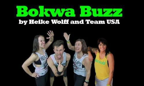Buchstaben tanzen beim Bokwa Buzz
