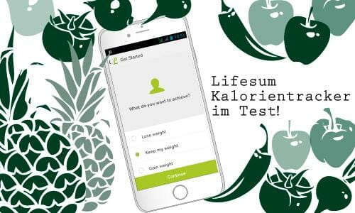 Fitness App Kalorienzähler Lifesum