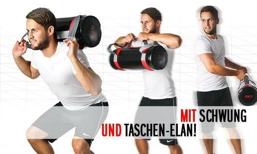 Sandbag Training für die funktionelle Fitness