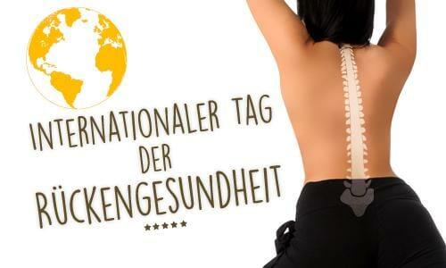 Internationaler Tag der Rückengesundheit