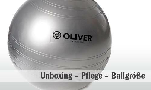 Gymnastikball Unboxing: Ballgröße - Tipps - Übungen