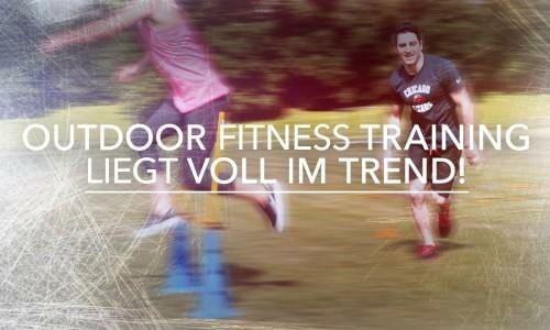 Outdoor Fitness Training macht Spaß