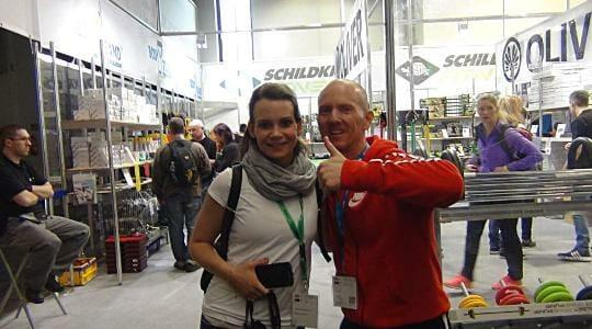 Fibo Köln 2015: Treffen mit Steffi Bruckert