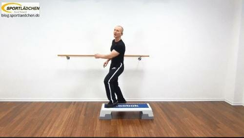 Step Aerobic Choreografie Bild 2