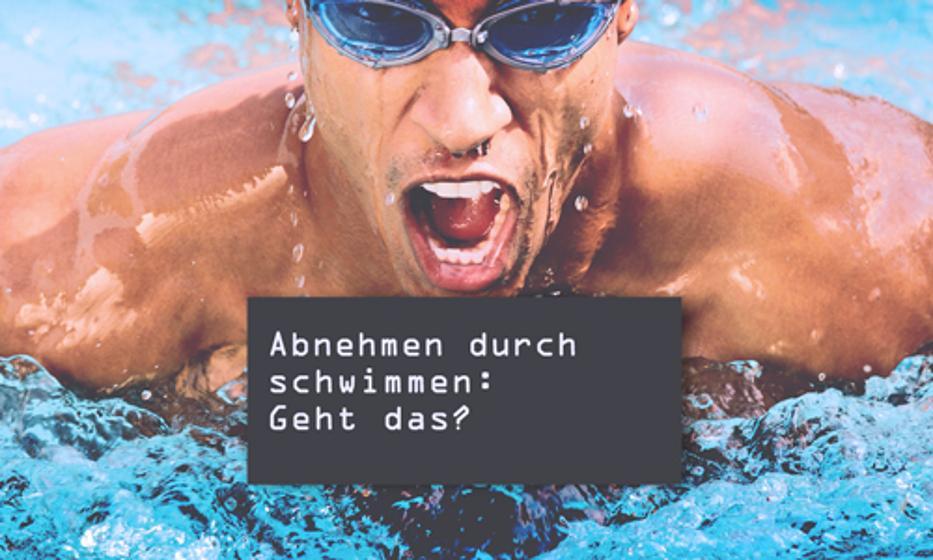Abnehmen durch schwimmen: Geht das?