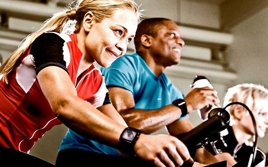 Fahrrad fahren hält fit