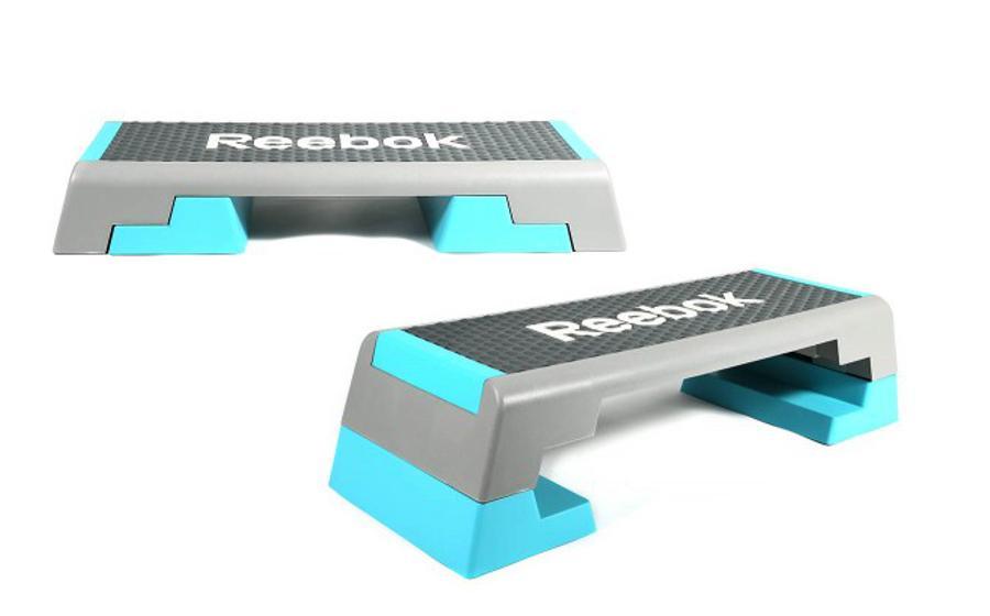 Reebok Step Original Türkis Grau Bild 2