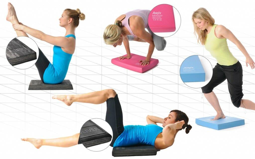 Übungen und Training mit dem Balance Pad