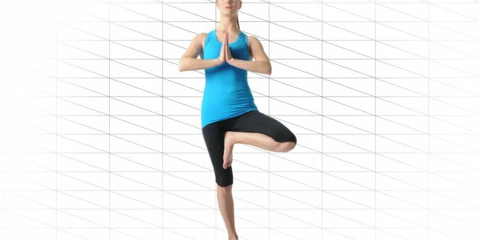 Yoga Übungen Rücken für Anfänger