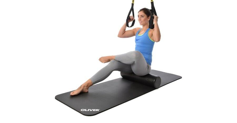 Faszien Fitness mit der Rolle und dem Slingtrainer