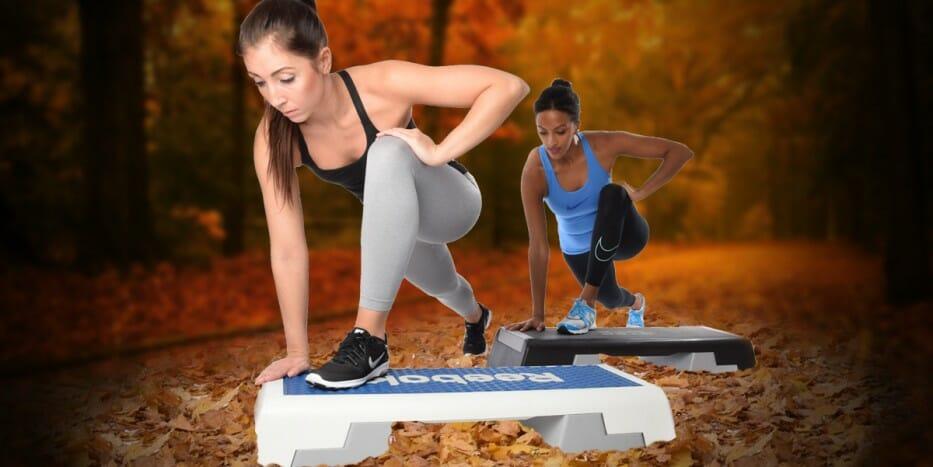 Step Aerobic Choreografie für Anfänger und Fortgeschrittene