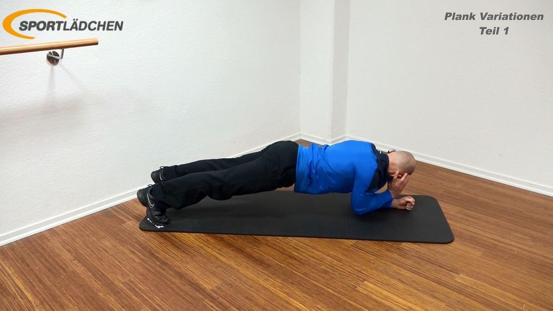 Plank Übung - Rotation 1